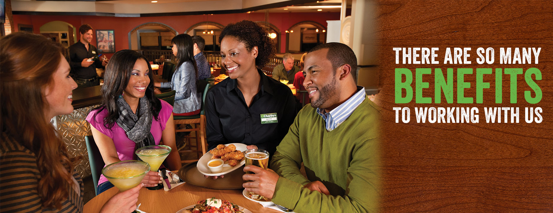 O'Charley's Employment Benefits